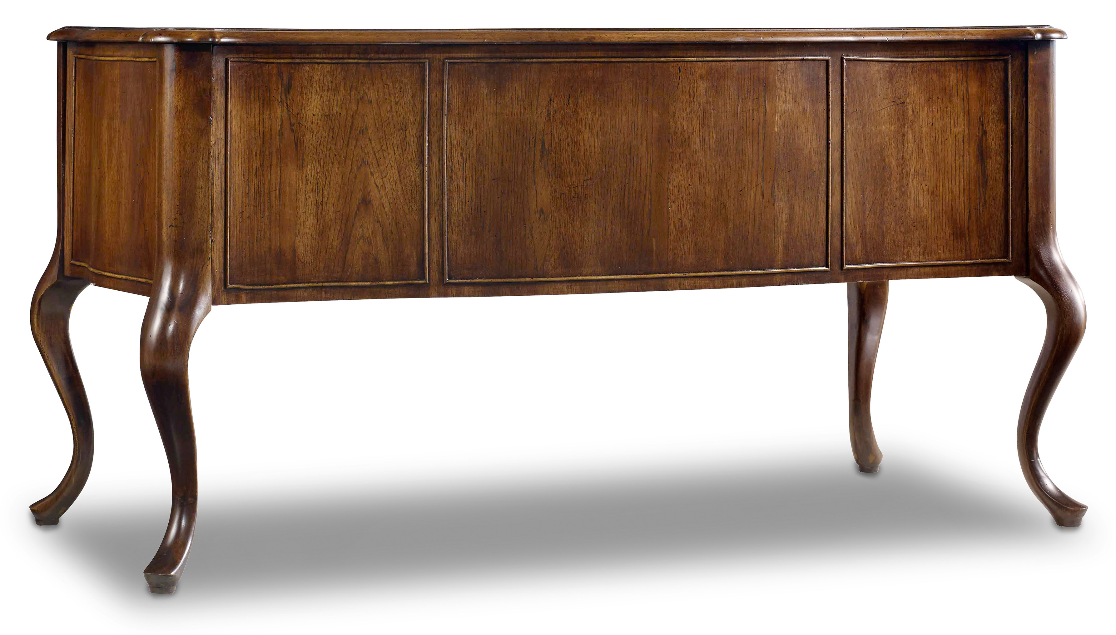 Writing Desk With Bonded Leather Top Insert By Hooker Furniture Wolf And Gardiner Wolf Furniture