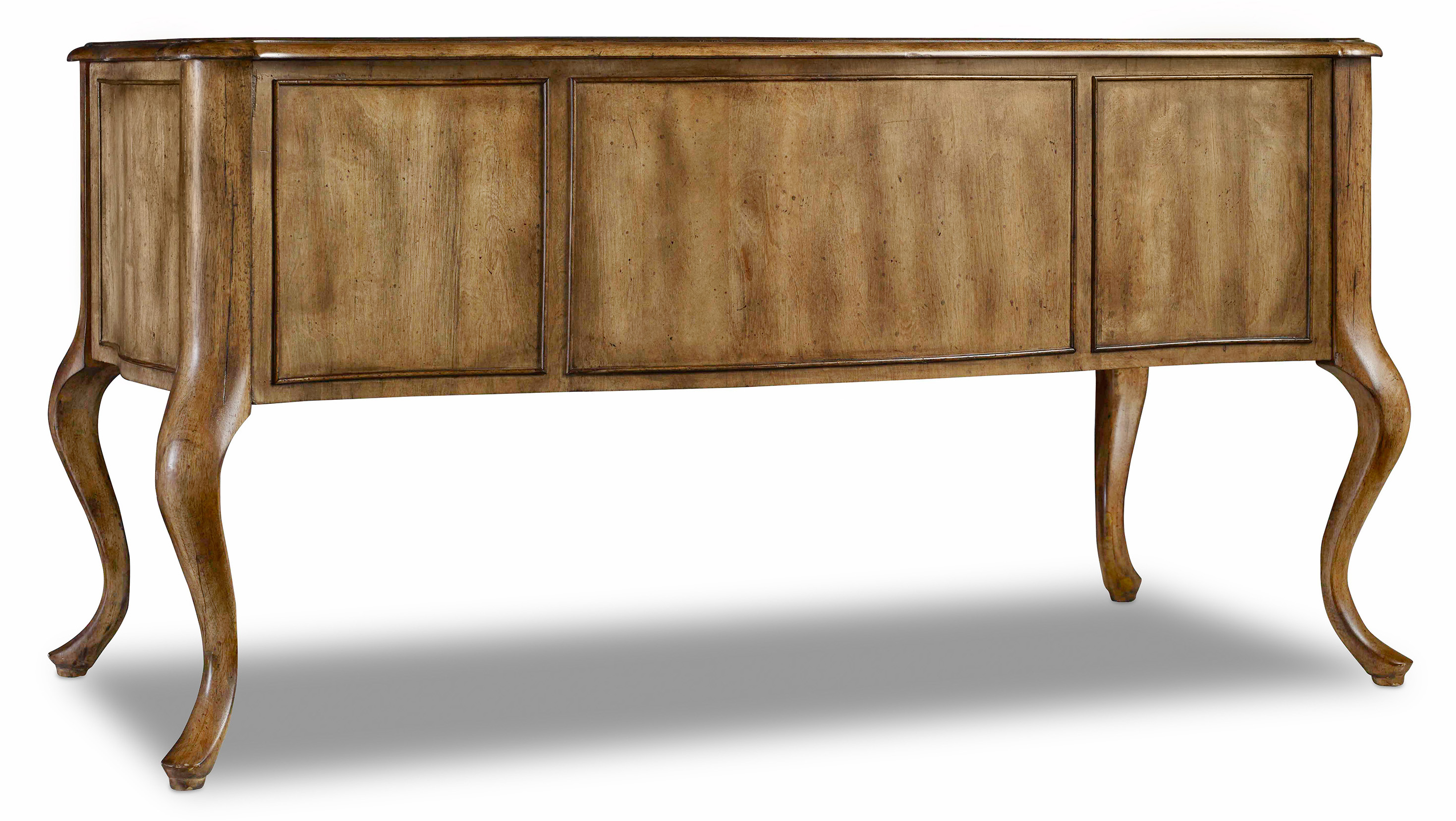 Writing Desk With Bonded Leather Top Insert By Hooker Furniture