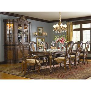 Hooker Furniture Beladora 9 Piece Table & Chair Set
