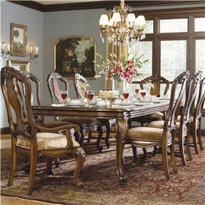 Hooker Furniture Beladora Rectagnular Leg Dining Table