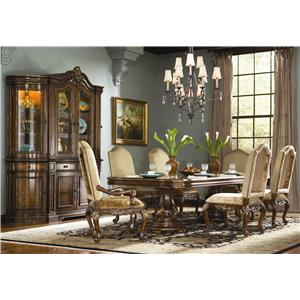 Hooker Furniture Beladora 7 Piece Table & Chair Set