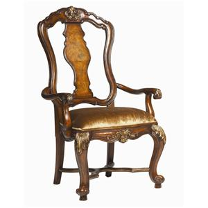 Hooker Furniture Beladora Open Back Arm Chair