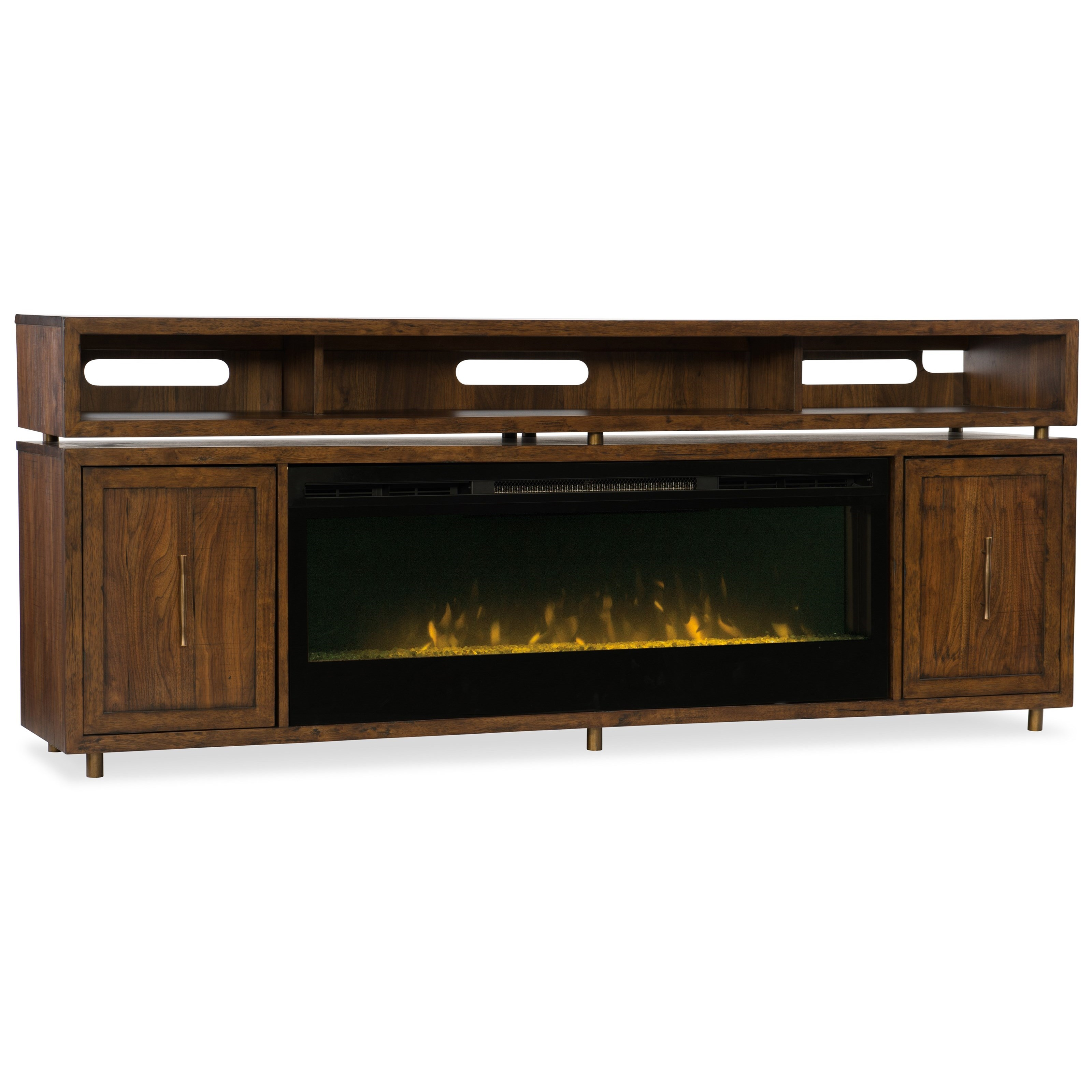 tv garden with stand console product fireplace today in inch shipping home espresso media free electric overstock