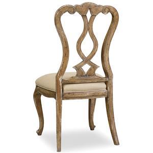 Hooker Furniture Chatelet Splatback Side Chair