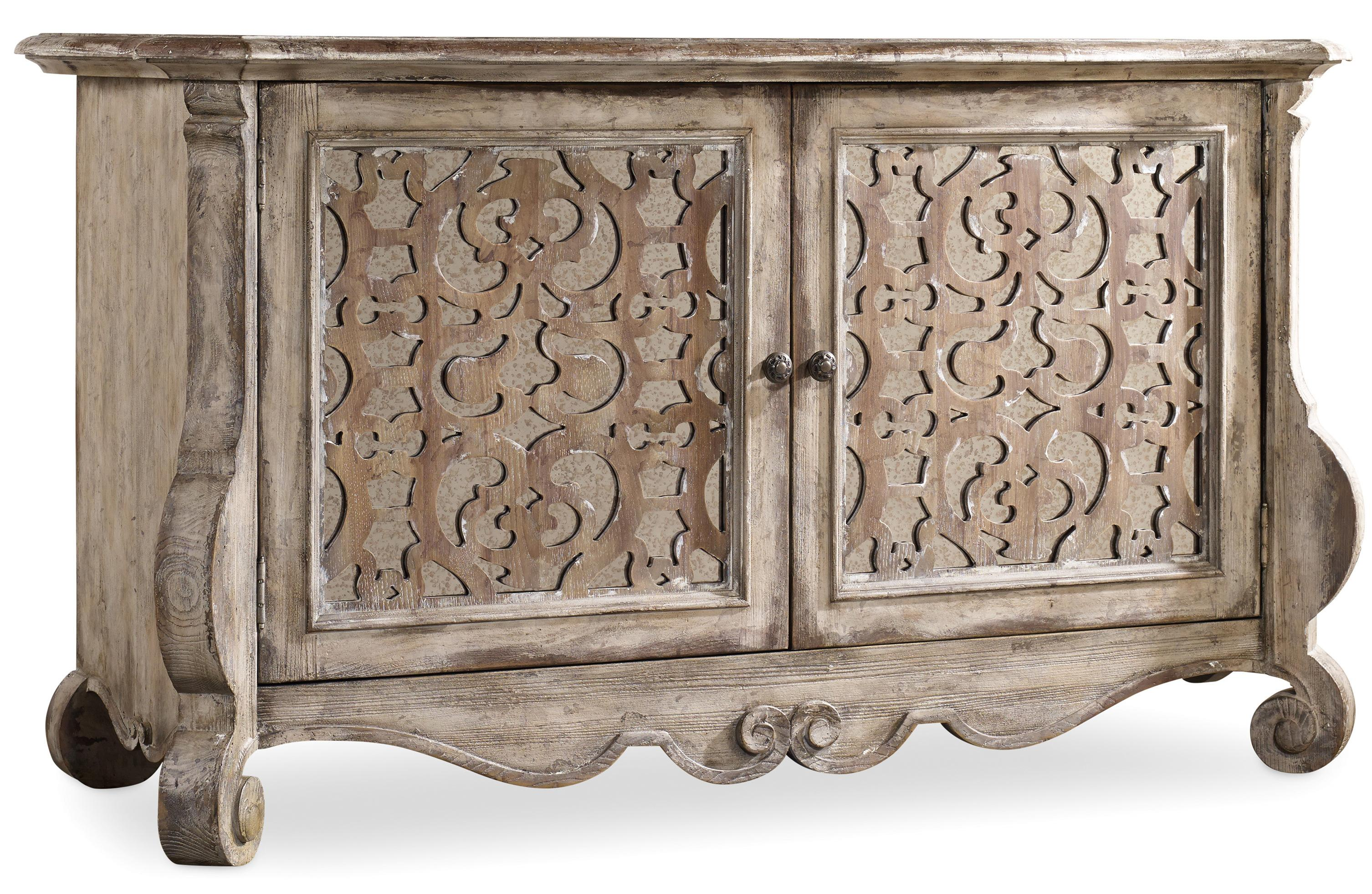 Buffet with Fretwork Doors  sc 1 st  Wolf Furniture & Buffet with Fretwork Doors by Hooker Furniture | Wolf and Gardiner ...