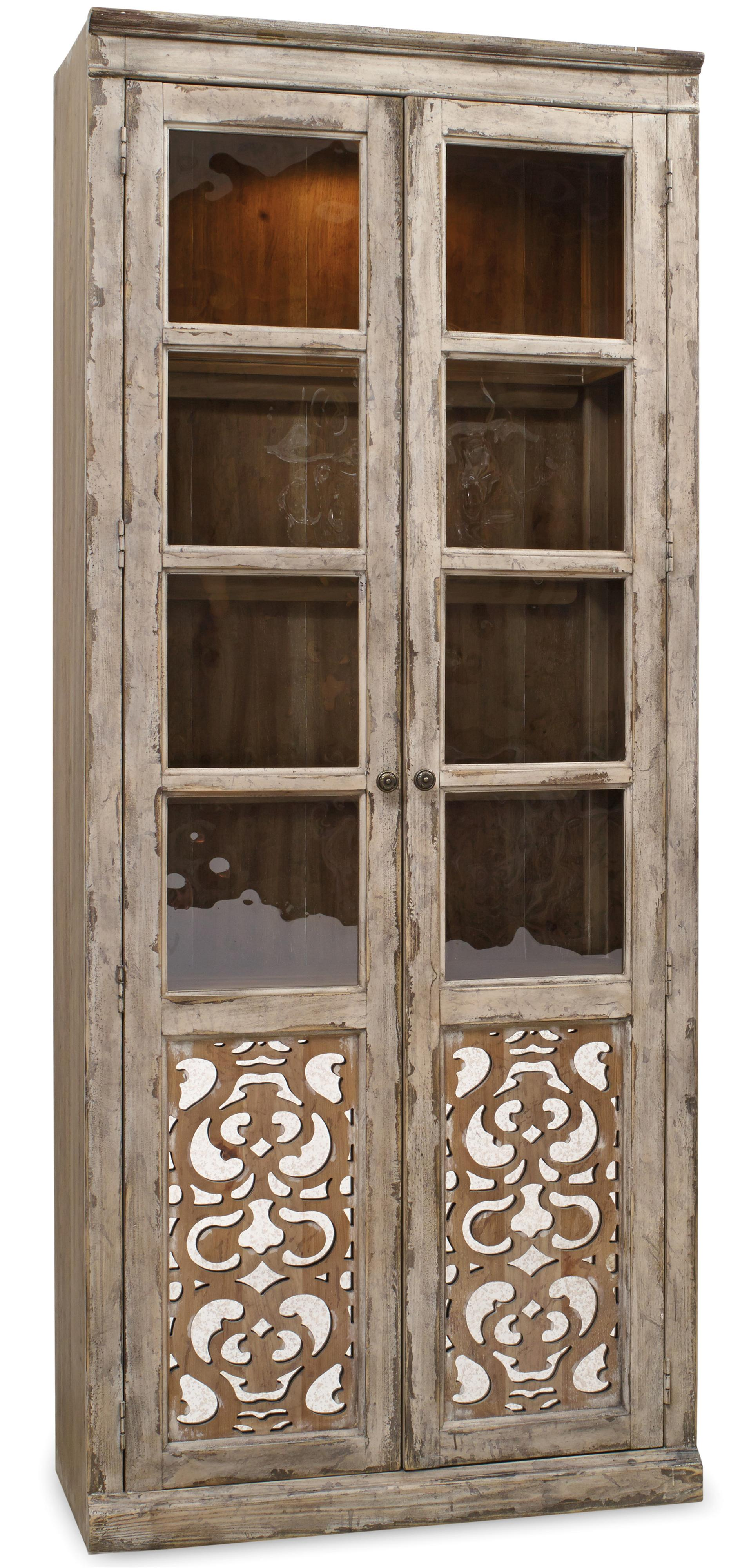 Bunching Curio with Fretwork Doors : fretwork doors - pezcame.com