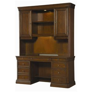 Hooker Furniture Cherry Creek  Desk and Hutch Combo