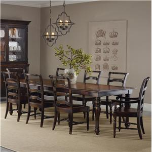 Hooker Furniture Eastridge Dining Set with Rectangle Table