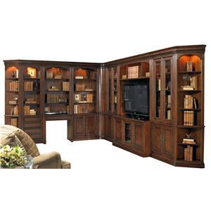 Hooker Furniture European Renaissance II Grand Scale Corner Wall Unit
