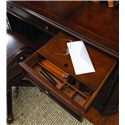 Hooker Furniture European Renaissance II Knee-Hole Computer Credenza - Writing Insert