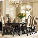 Hooker Furniture Grandover 9 Piece Set - Item Number: 5029-75200+2x75500+6x75510