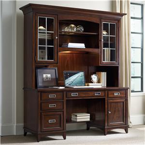 Hooker Furniture Latitude Credenza and Hutch Set