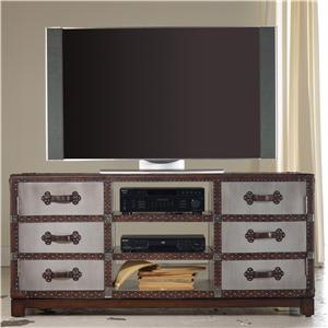 "Hooker Furniture Mélange 60"" Bondurant Entertainment Console"