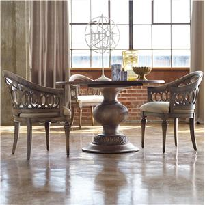 Hooker Furniture Mélange 3 Piece Cambria Dining Set