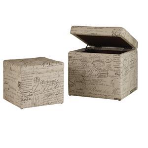 Hooker Furniture Mélange Joli Nesting Ottomans