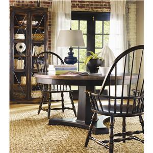 Hooker Furniture Sanctuary 3 Piece Table & Chair Set