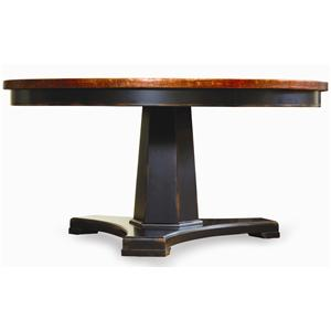 "Hooker Furniture Sanctuary 60"" Round Pedestal Dining Table"
