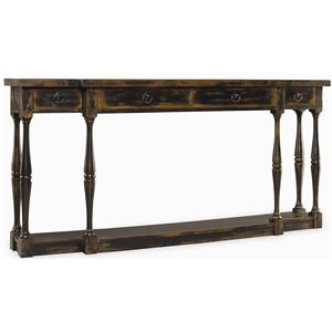 Hooker Furniture Sanctuary Four Drawer Thin Console