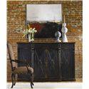 Hooker Furniture Sanctuary 4 Door, 3 Drawer Credenza