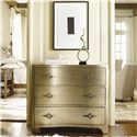 Hooker Furniture Sanctuary 3 Drawer Shaped Front Chest