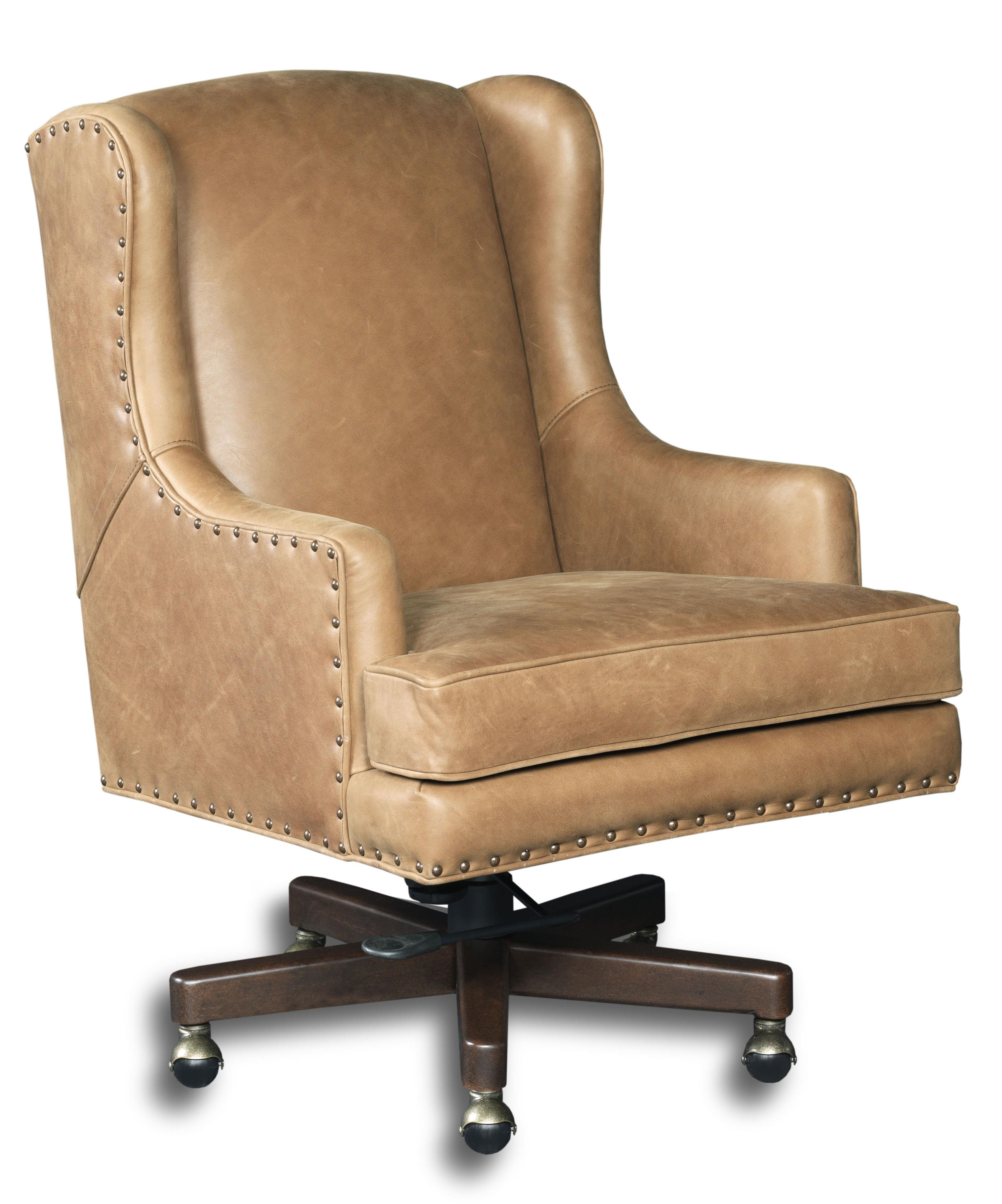 wing back swivel executive chair by hooker furniture wolf and