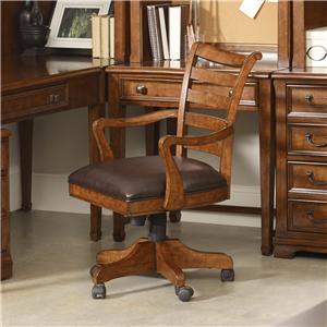 Hooker Furniture Shelton Tilt Swivel Chair