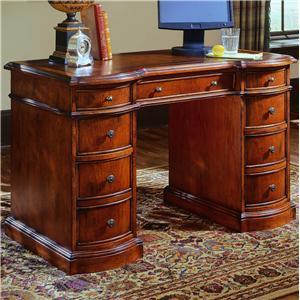 Hooker Furniture Small Knee-Hole Desks Knee Hole Desk