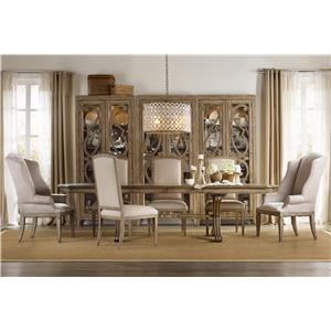 Hooker Furniture Sundara 7 Piece Table & Chair Set