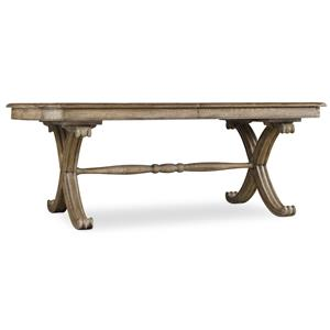"Hooker Furniture Sundara Rectangle Dining Table with two 18"" Leaves"