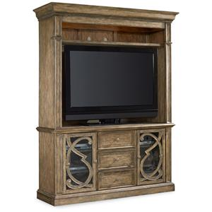 Hooker Furniture Sundara Entertainment Console and Hutch