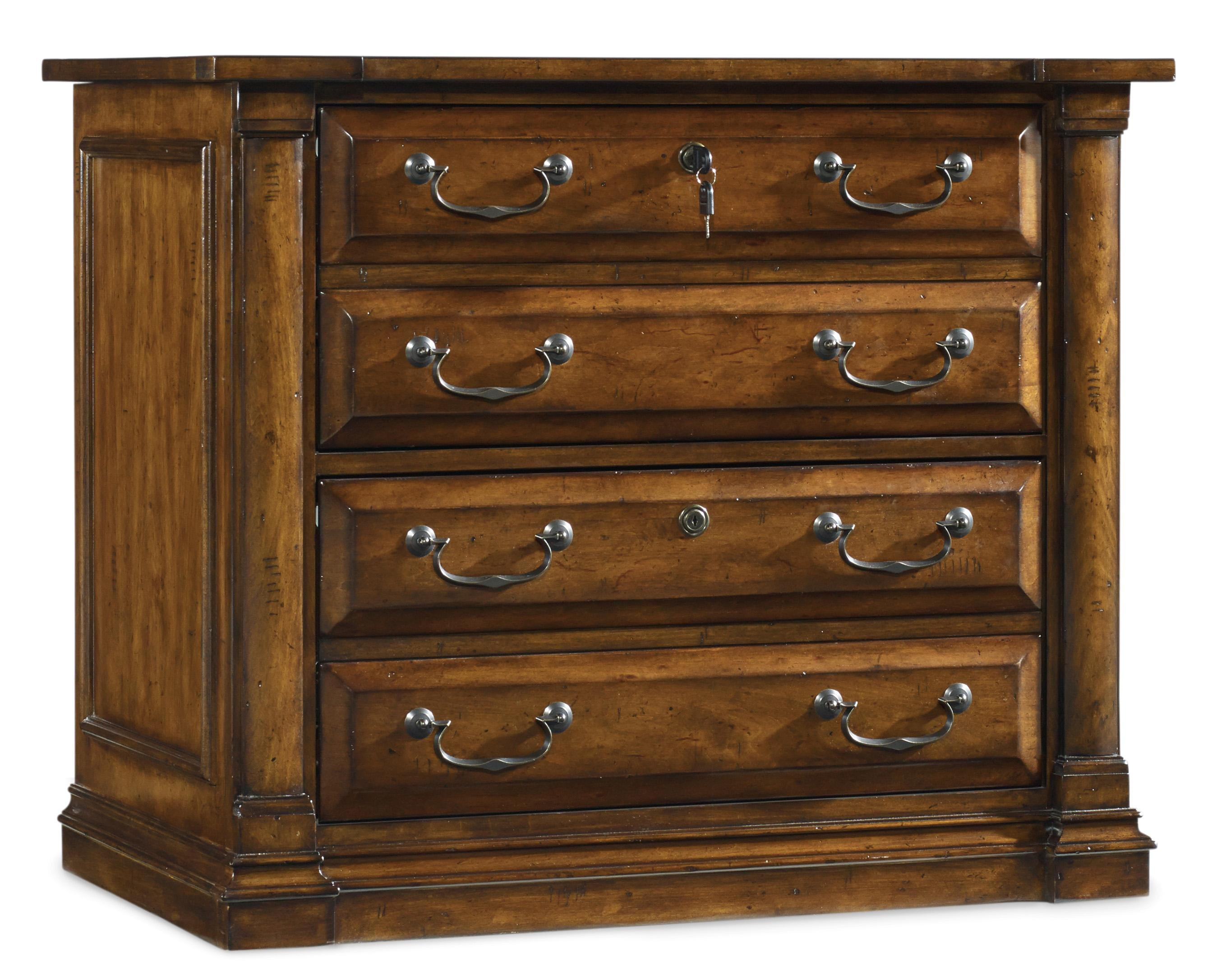 Traditional Lateral File By Hooker Furniture Wolf And Gardiner Wolf Furniture