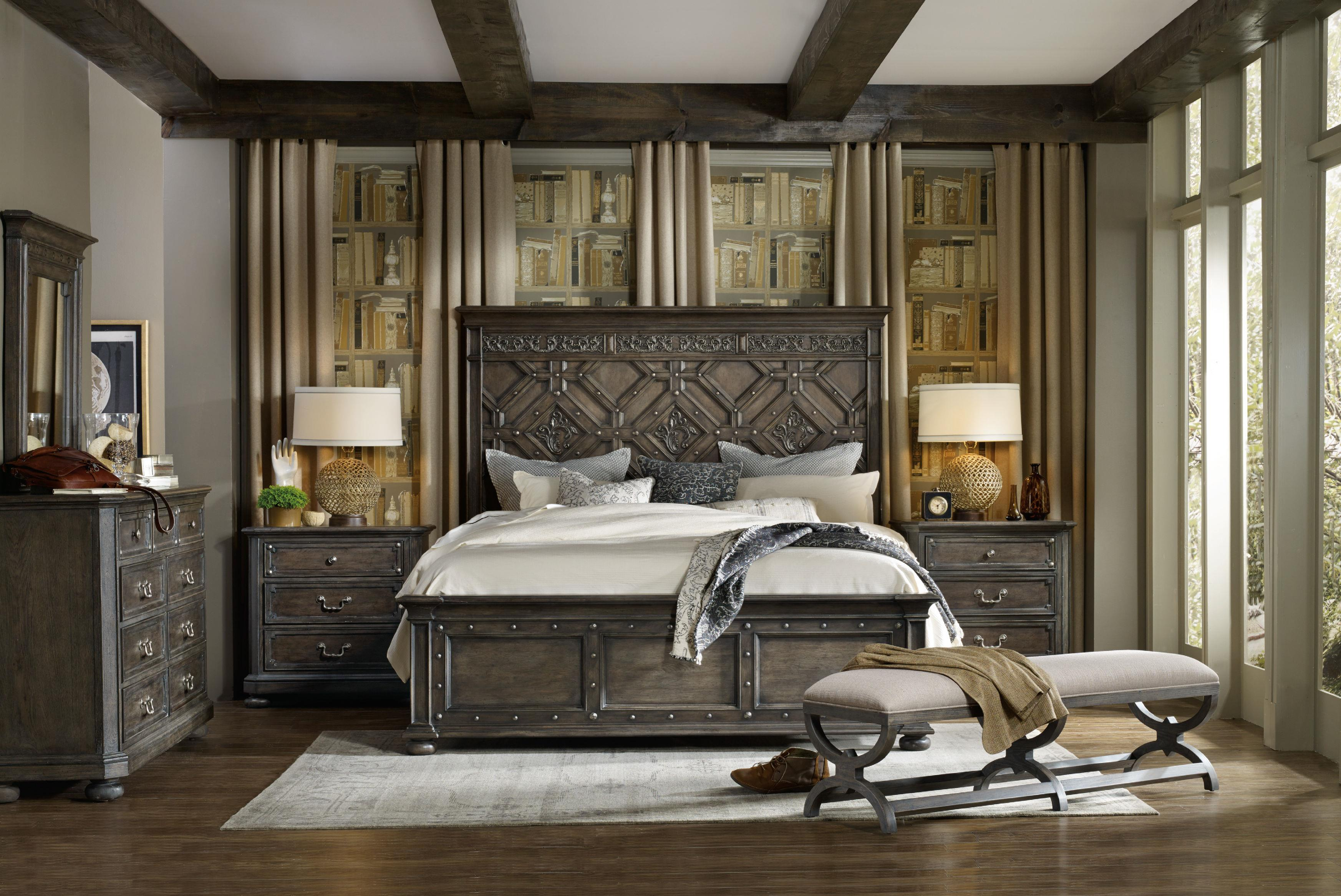 hooker furniture.  Hooker By Hooker Furniture California King Bedroom Group Intended Furniture
