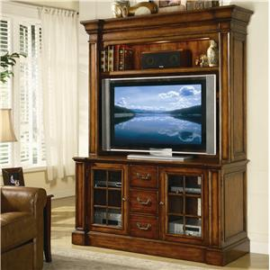 Hooker Furniture Waverly Place Entertainment Console and Hutch