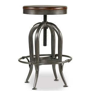 Hooker Furniture Wendover Adjustable Heighht Stool