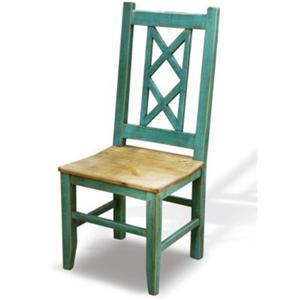 Horizon Home Bombay Bombay X Back Side Chair