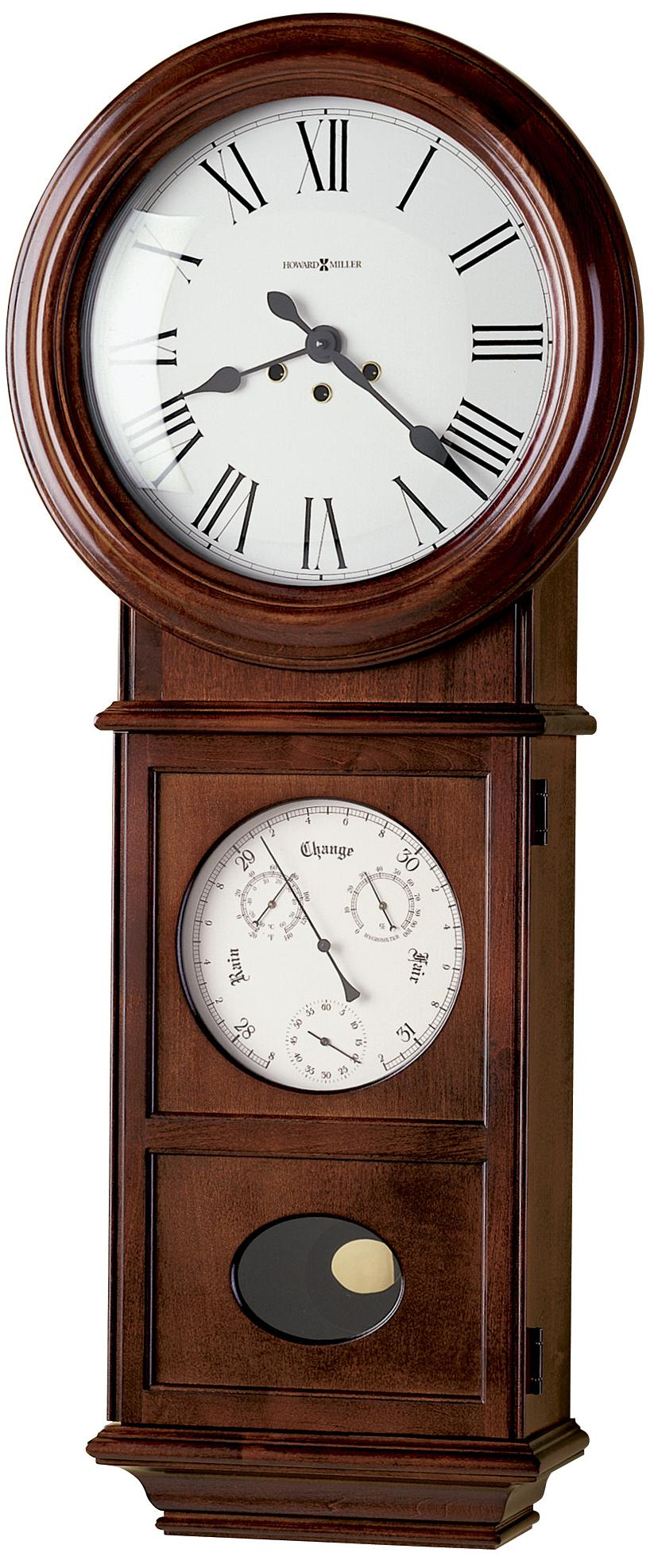 Lawyer Ii Wall Clock By Howard Miller Wolf And Gardiner