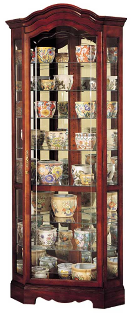 By Howard Miller. Jamestown Collectors Cabinet