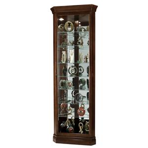 Howard Miller Corner Curios Drake Display Cabinet