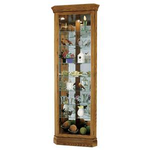 Howard Miller Corner Curios Drake Display Cabinet