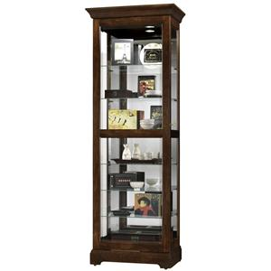 Howard Miller Furniture Trend Designs Curios Martindale Display Cabinet