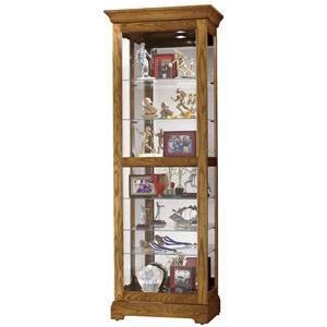 Howard Miller Furniture Trend Designs Curios Moorland Display Cabinet