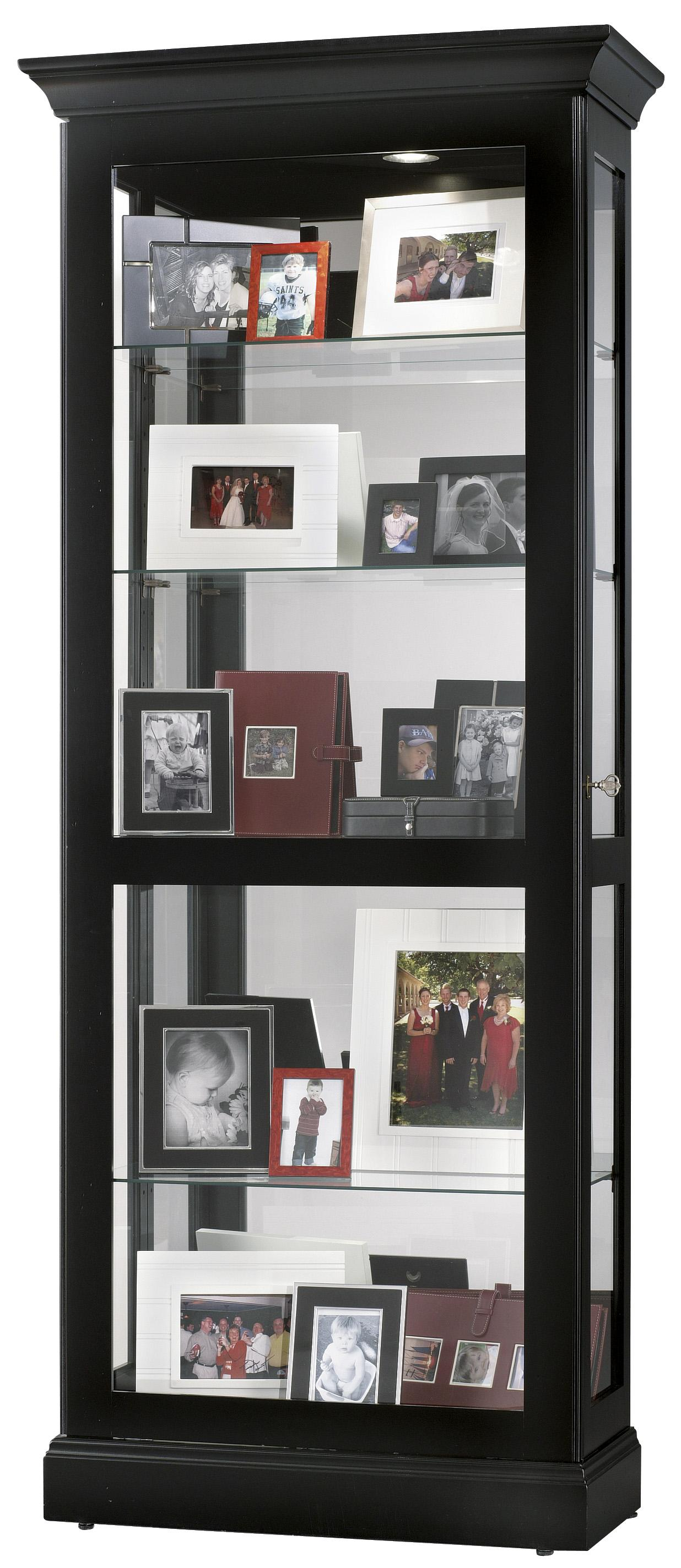 Berends Display Cabinet by Howard Miller | Wolf Furniture