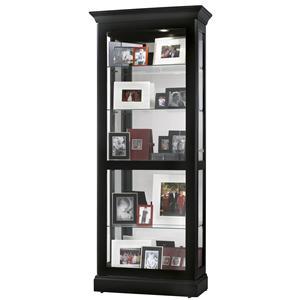 Howard Miller Furniture Trend Designs Curios Berends Display Cabinet