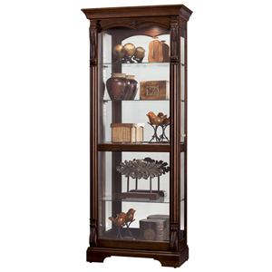 Howard Miller Furniture Trend Designs Curios Bernadette Display Cabinet