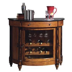 Howard Miller Wine & Bar Furnishings Merlot Valley Wine & Bar Cabinet