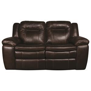 Morris Home Furnishings Heath Heath PWR Leather-Match* Loveseat