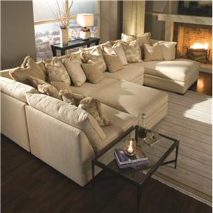 Huntington House 7100 Godfrey Sectional Sofa