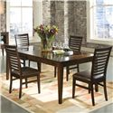 Intercon Kashi 5Pc Dinette - Item Number: INCKI/AKIT