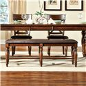 Intercon Kingston  Dining Bench - Item Number: KG-CH-5416-RAI