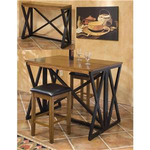 Intercon Siena 3Pc Pub Dinette